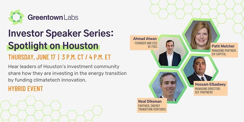 Investor Speaker Series: Spotlight on Houston